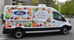 Food bank van