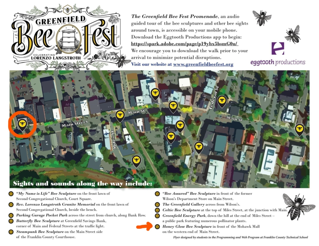 Greenfield BeeFest Map